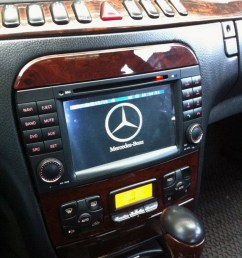 mercedes benz s w220 aftermarket navigation player [ 900 x 1101 Pixel ]