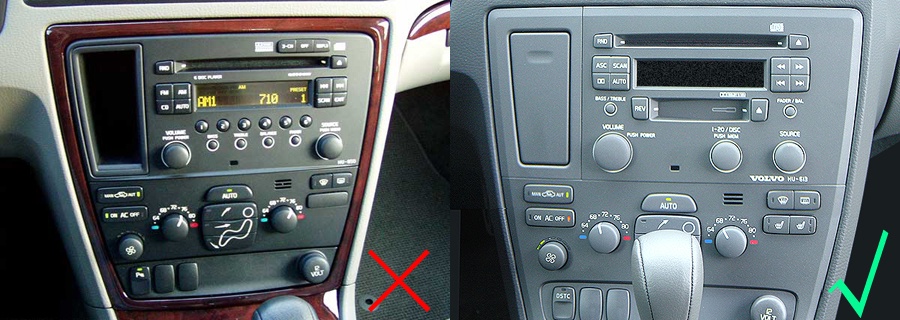 2009 S60 Stereo Volvo Aftermarket