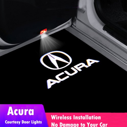 Acura door lights logo