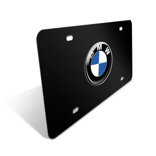 Heavy Duty 3D Stainless Steel License Plate Cover for BMW,All for BMW Models,Personalize Your BMW License Plate Frame