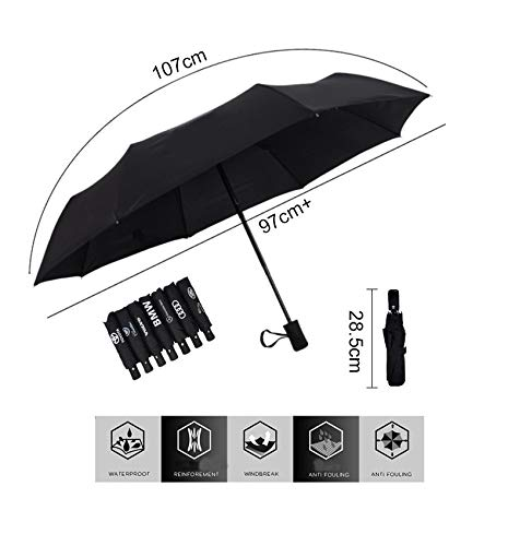 Auto Sport AUTO Open Large Folding Umbrella Windproof Sunshade with Car Logo (for Buick)