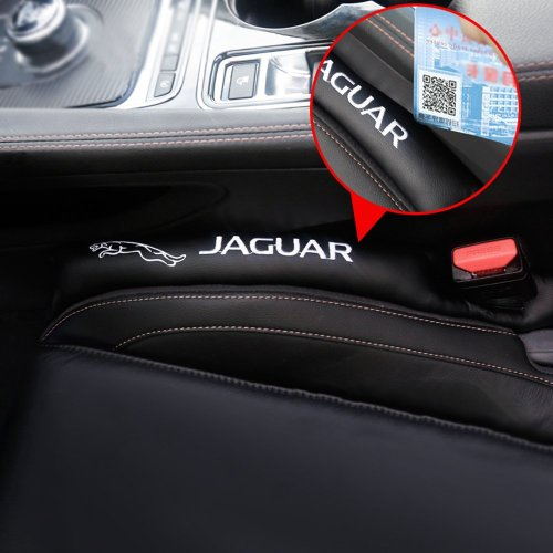 Car Seat Gap Filler Gap Cushion 2 Pieces Jaguar Logo