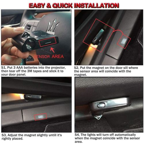 car door light projector