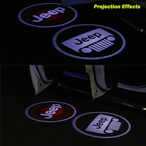 JEEP door light projector