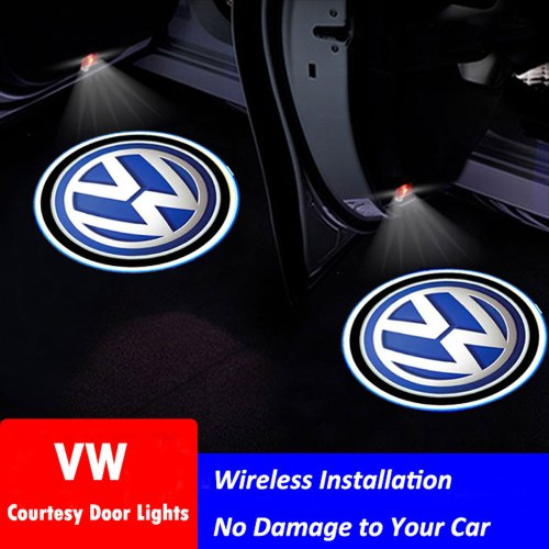 VW door lights logo