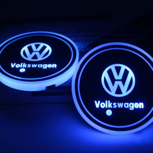 vw cup holder lights