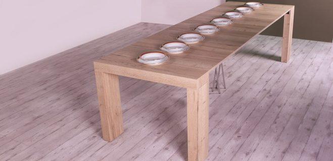 tavolo a consolle square 2