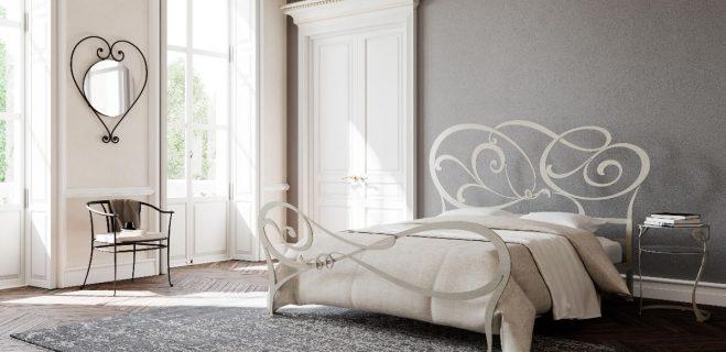 letto in ferro battuto modello floris_ barel