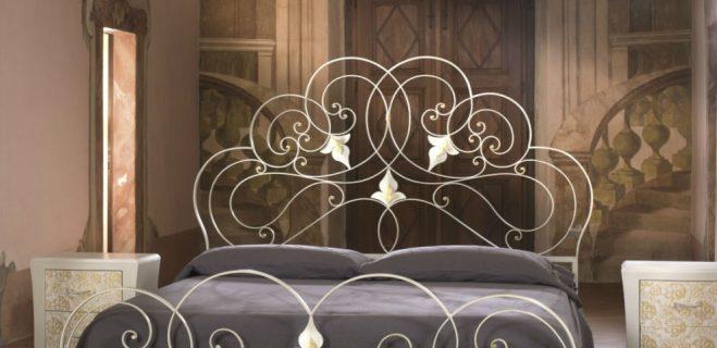letto in ferro battuto modello rondò_ barel