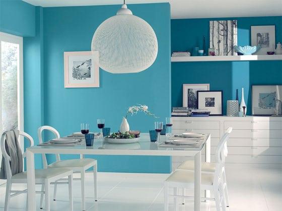 salon bleu turquoise une inspiration