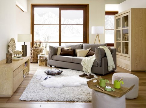 Ambiance cocooning  Un style relaxant pour son salon