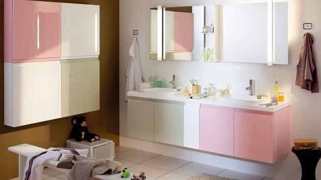 salle de bain pastel une deco