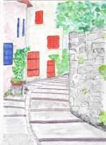 Escalier Hyeres