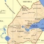carte de Djibouti