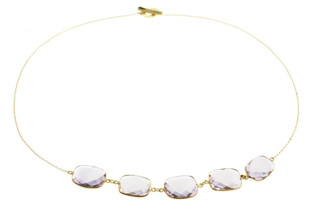 14K Gold Opera Collection with Amethyst (2)