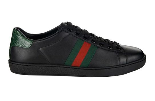 Gucci_Web-_leather_trainers