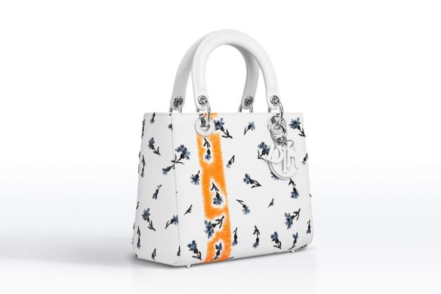 """LADY DIOR"" White Embroidered € 3,600"