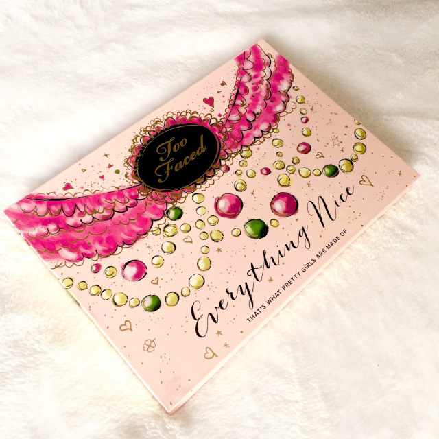 Review : La palette Everything Nice de Too Faced