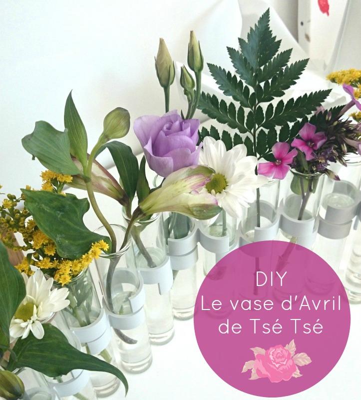 Vase d\'Avril DIY | Carnet Lyonnais