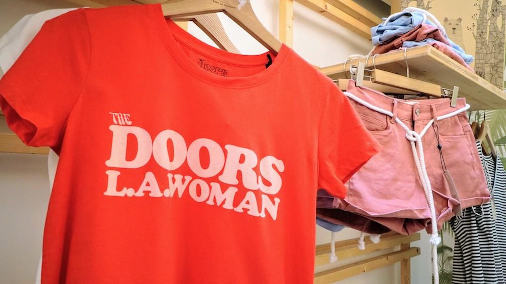 tee shirt Doors à la boutique Popleen
