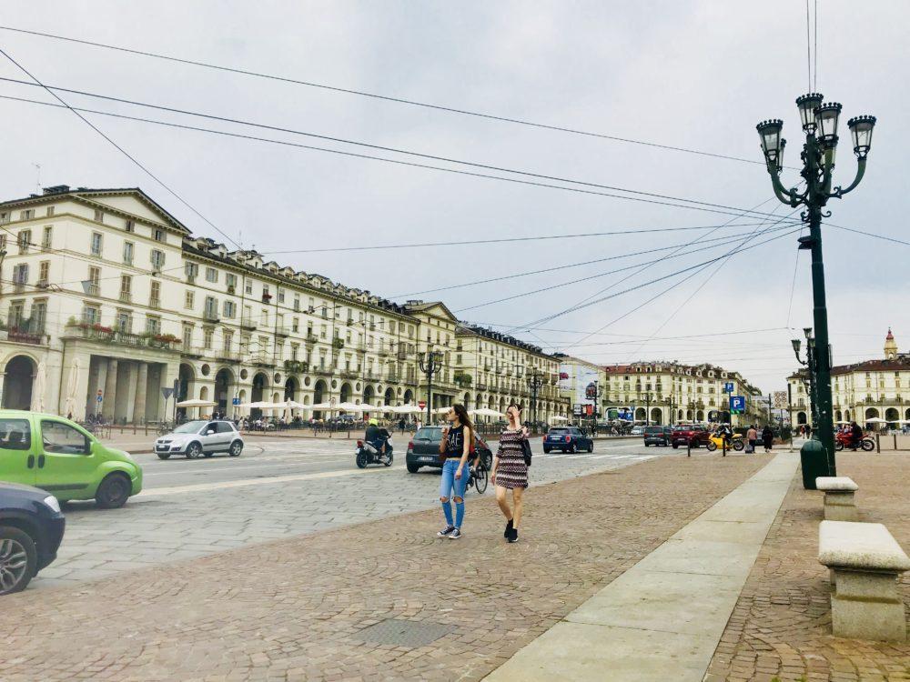 Piazza Vittorio Veneto à Turin