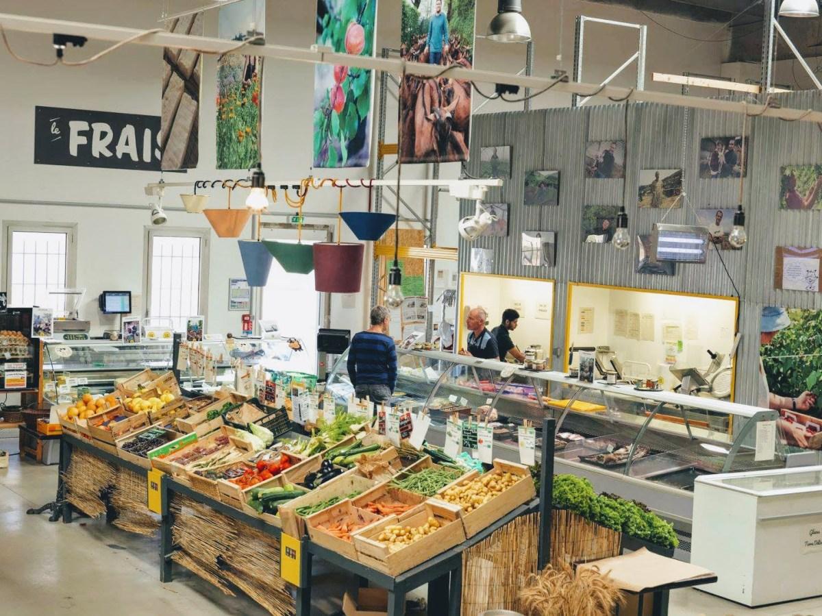 la super halle d'oullins un supermarché bio près de lyon