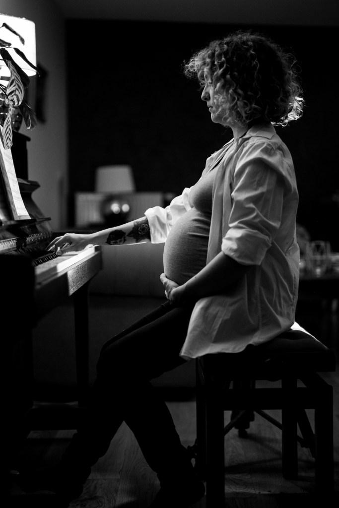 femme enceinte grossesse original beau nature