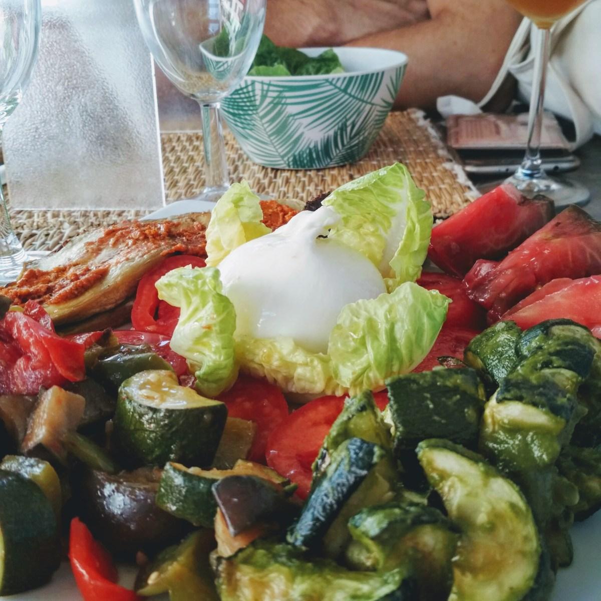 assiette du jour au restaurant les capucins