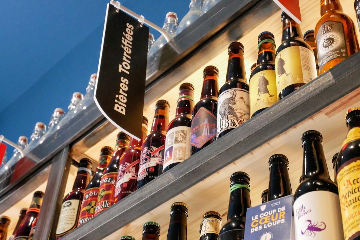 panneau bières torrefiees