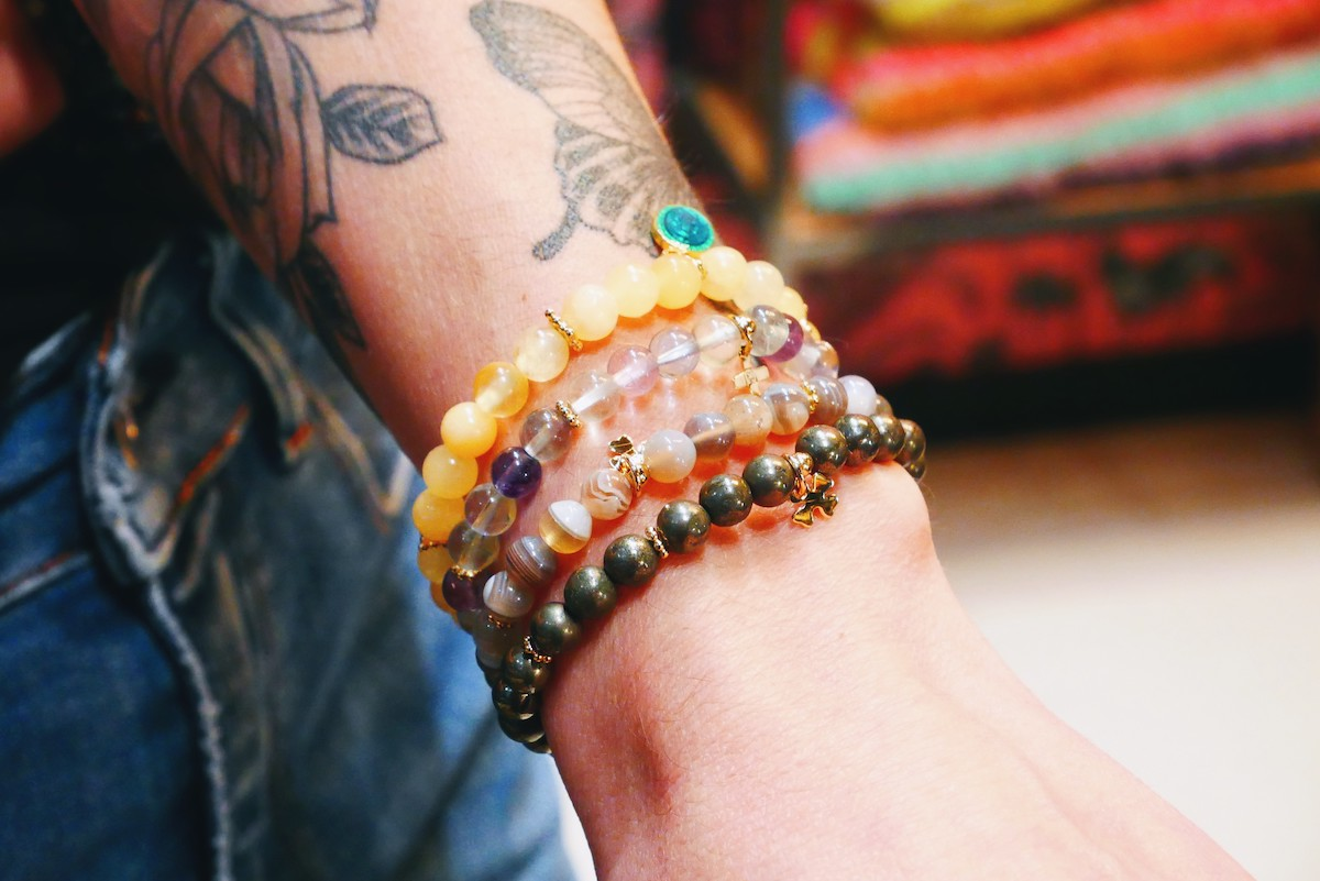 bracelets en pierre lithothérapie