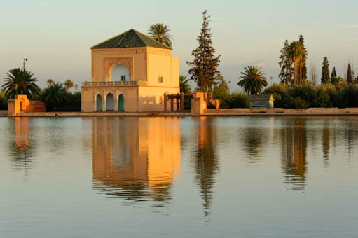 Marrakech  le jardin de la Mnara