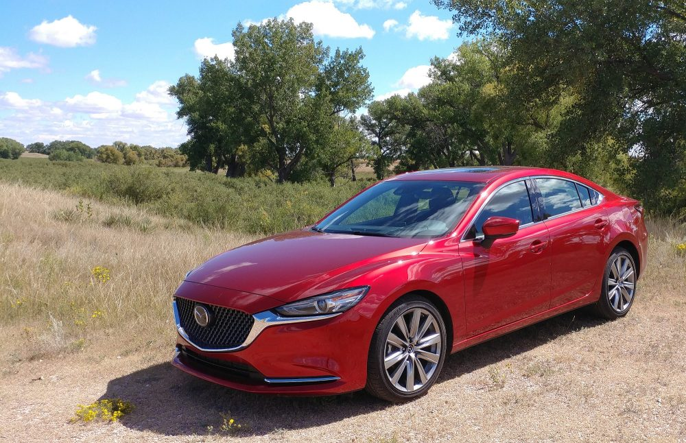 medium resolution of on looks the mazda 6 remains consistent and modern the updated look of the mazda 6 is mostly centered around the car s interior as the exterior maintains