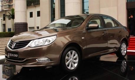 New car from China: Wuling Baojun 630