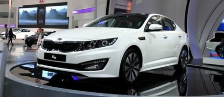 Kia K5 for China