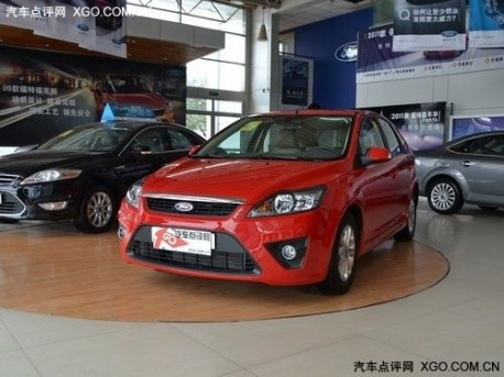 2011 Ford Focus China