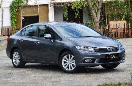 Honda Civic sedan China