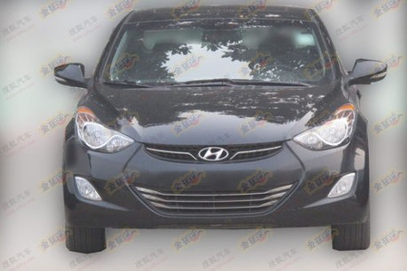 new Hyundai Elantra China