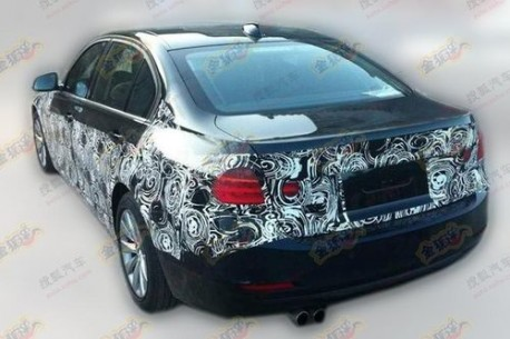 extended BMW 3-series China