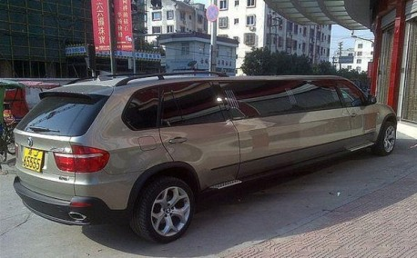 Extended BMW X5 from China