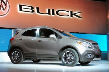 Buick Encore debuts at Detroit Auto Show