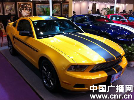 Ford Mustang Bumblebee China