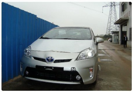 China-made Toyota Prius