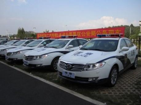 Guangzhou Auto Trumpchi police car