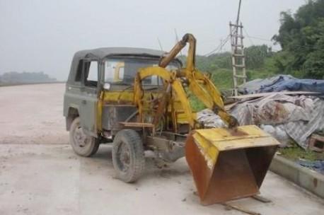 Beijing-Jeep excavator
