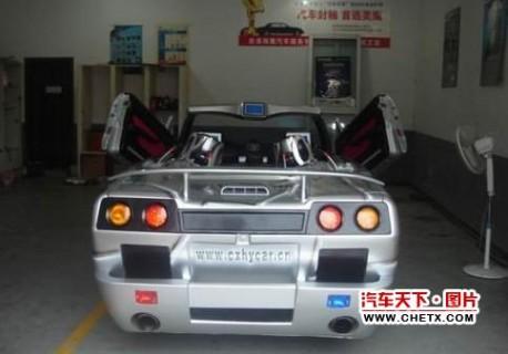Extreme Tuning from China: Mazda 3 Convertible