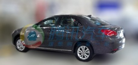 facelifted Roewe 550 China