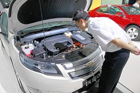 Chevrolet Volt China