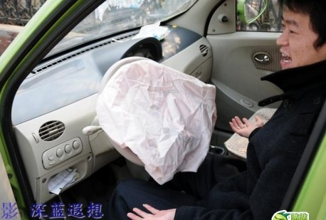 Hafei Lobo Airbag problems