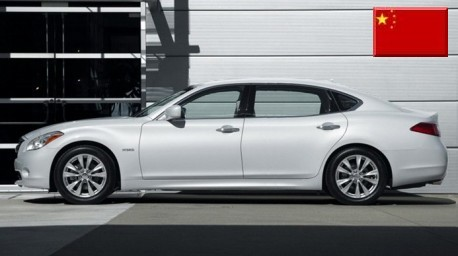 Extended Infiniti M for China