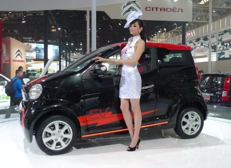 Dongfeng E30 EV concept